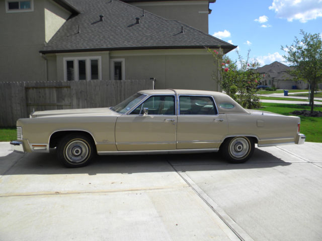 1979 Lincoln Continental 4dr Town Car For Sale Photos Technical