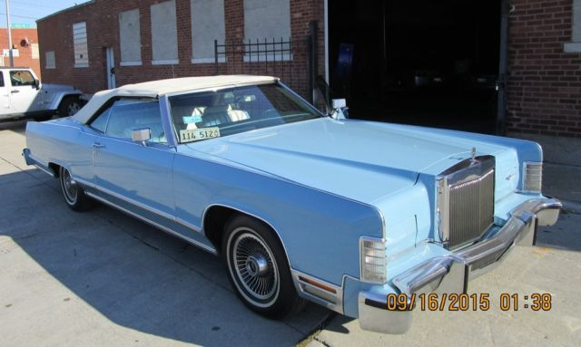 1979 Lincoln Continental 2 door