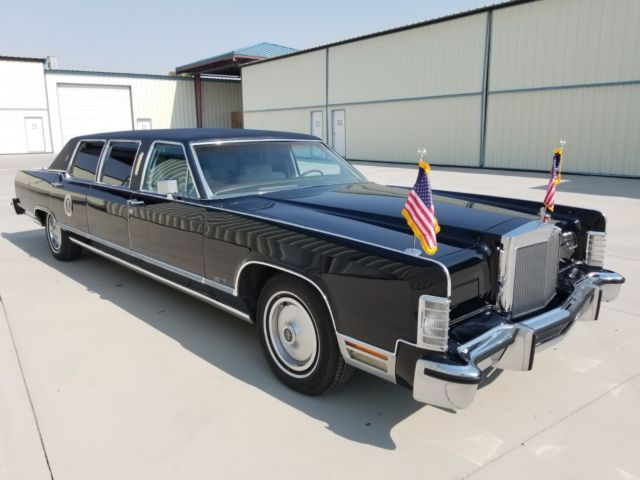 1979 LINCOLN CONTINENTAL LIMOUSINE with only 14,000 MILES