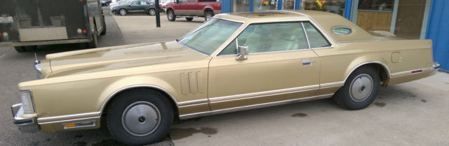 1979 Lincoln Mark Series Cartier
