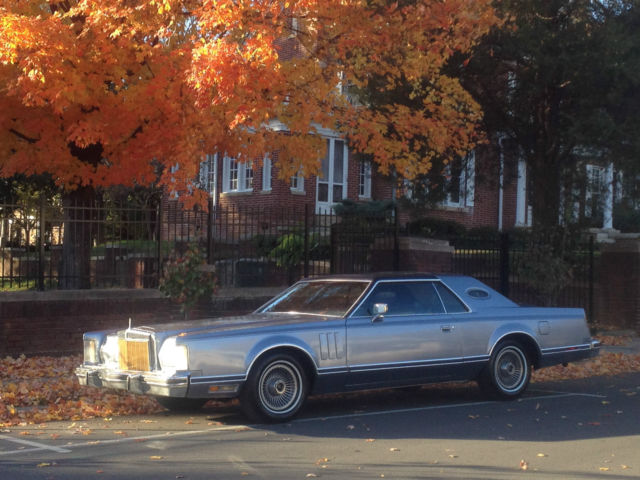 1979 Lincoln Continental CONTINENTAL V GIVENCHY COUPE