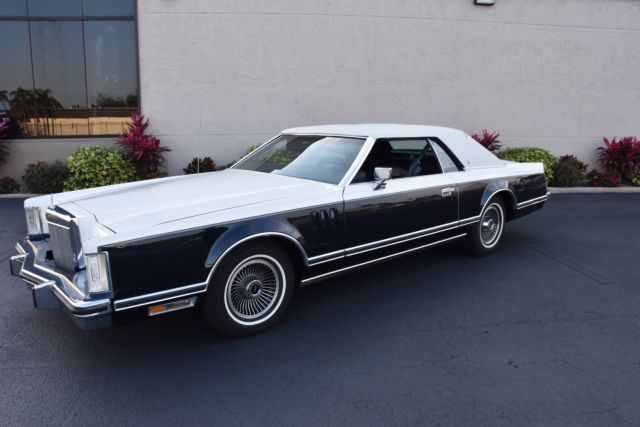 1979 Lincoln Continental Mark V One Owner Bill Blass Edition 55k