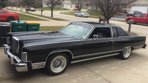 1979 Lincoln Continental Town Coupe Clean 60k Original Miles