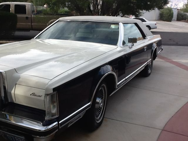 1979 Lincoln Mark Series MARK V BILL BLASS