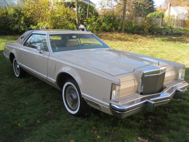 1979 Lincoln Continental Leather