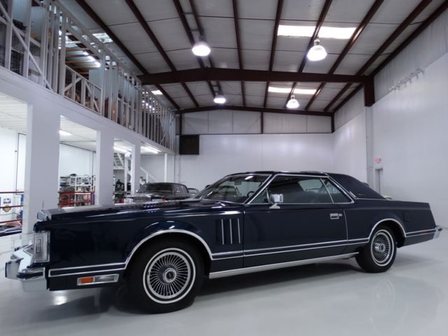 19790000 Lincoln Continental Mark V ONLY 18,840 MILES! 1 OF ONLY 3,900 BUILT!