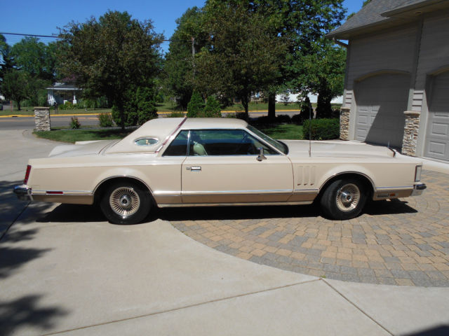 1979 Lincoln Mark Series Cartier Limited