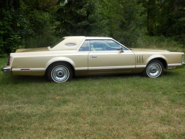 1979 Lincoln Mark Series Leather