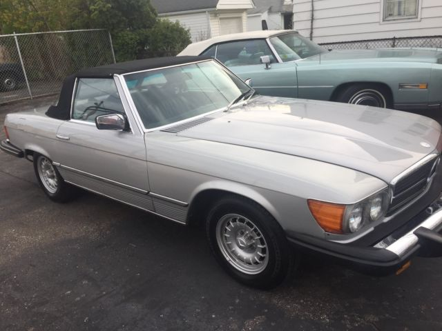 1979 Mercedes-Benz 400-Series 450 sl
