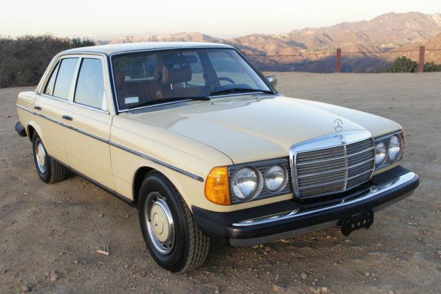 1979 Mercedes Benz 280e Original Paint W123 240d 300d