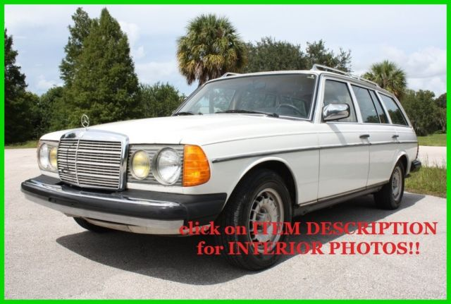 1979 Mercedes-Benz 300-Series 300TD WAGON DIESEL W123 T-MODEL NO RESERVE!!