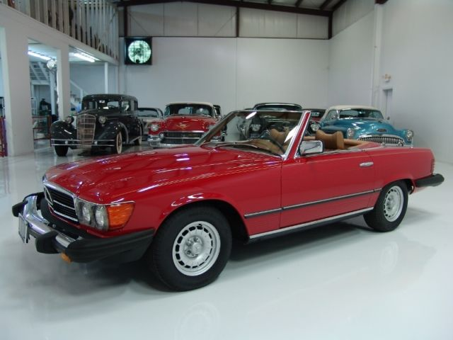 1979 Mercedes-Benz SL-Class ONLY 58,142 ACTUAL MILES!