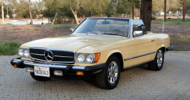 1979 mercedes benz 450sl rust free original paint runs for 1979 mercedes benz 450sl for sale