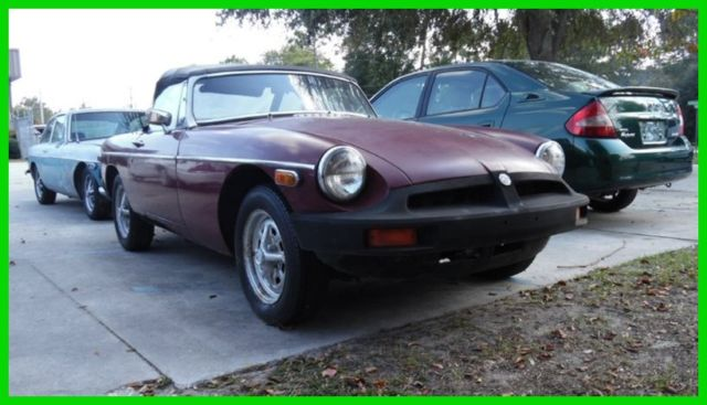 1979 MG MGB $99 NO RESERVE 1979 MG MGB CONVERTIBLE