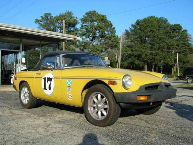 1979 MG MGB Deluxe