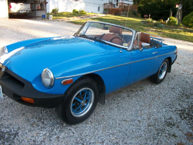 1979 MGB Roadster Convertable