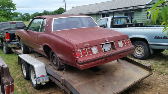 1979 Monte Carlo Project With Another 1979 Monte Carlo For Parts For Sale Photos Technical