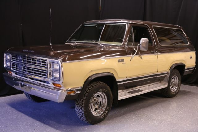1979 Plymouth Other Trailduster RamCharger Sport