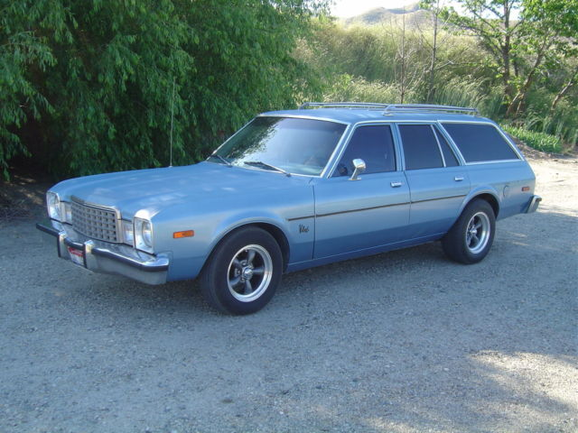 1979 Plymouth Volare Wagon Super 6 Auto Air Solid