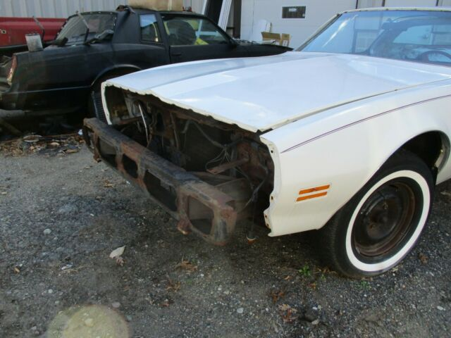 1979 White Pontiac Firebird FIREBIRD T TOP with White interior