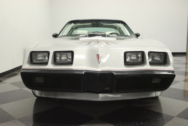 1979 Silver Pontiac Firebird Trans Am 10th Anniversary Edition Coupe with Silver interior