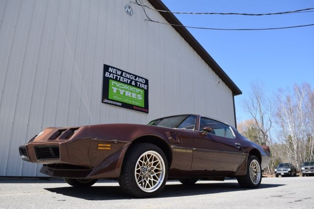 1979 Pontiac Trans Am 400ci Engine, 4 speed T-Tops
