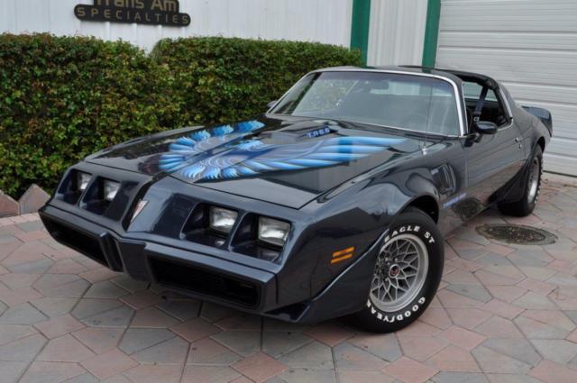 1979 Pontiac Trans Am W72 Performance Package 4 Speed WS6