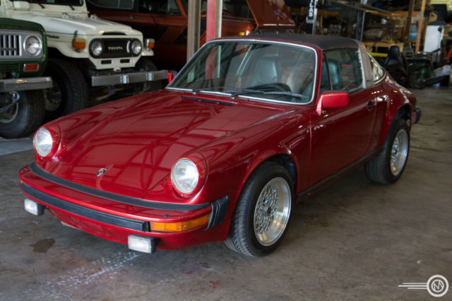 1979 Porsche 911 Mostly Complete, Painted, No Engine/Transmission