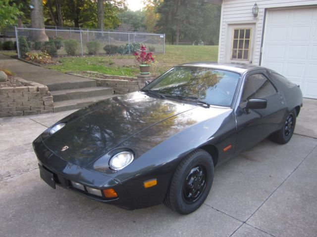 1979 Gray Porsche 928 Euro Coupe