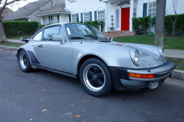 1979 Porsche 930 Turbo Coupe 2-Door