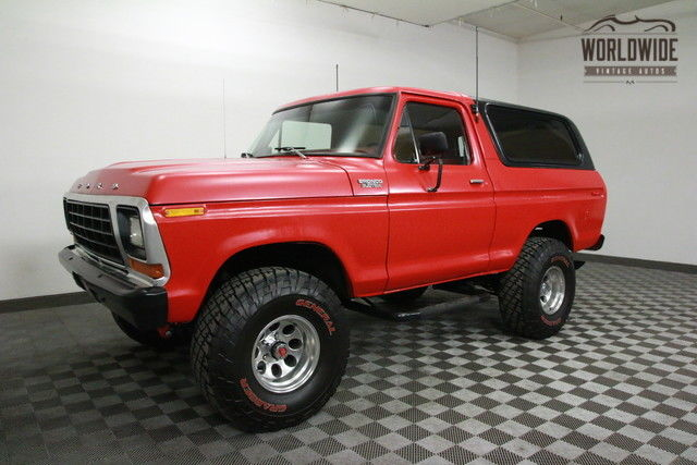 1979 Ford Bronco 400 BIG BLOCK! RARE. PS. PB. CONVERTIBLE!