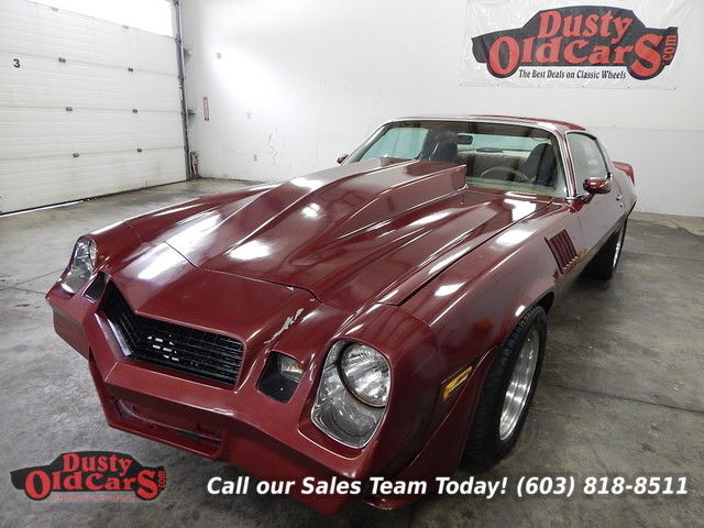 1979 Chevrolet Camaro Runs Drives Sounds Great Built 350 Cage
