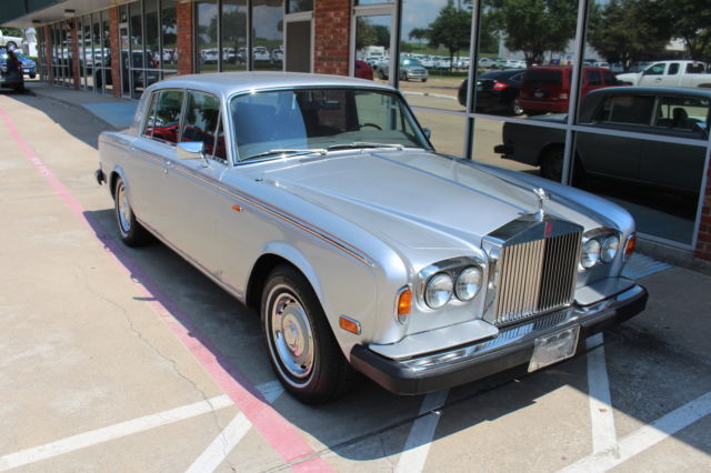 1979 Rolls-Royce Other Base 4 Door