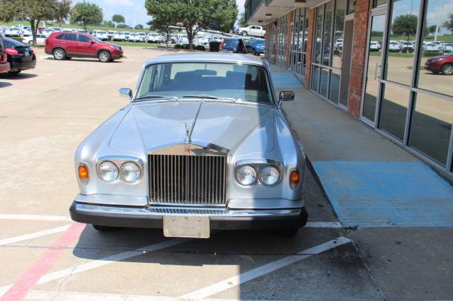 1979 Rolls Royce Silver Shadow Ii 75th Silver Anniversary