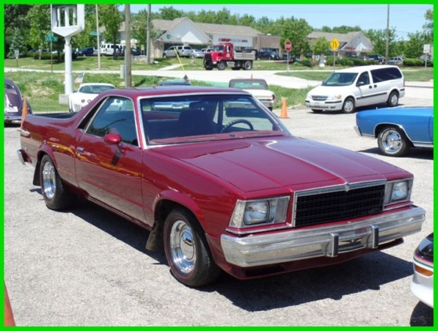 1979 Chevrolet El Camino RUST FREE FROM ARIZONA