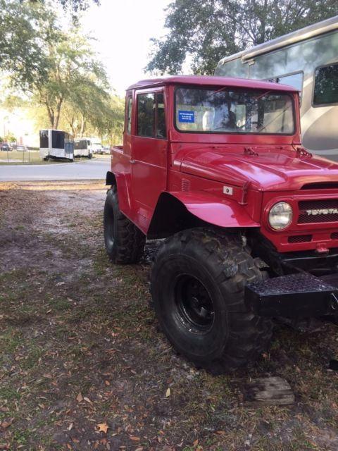 toyota fj land cruiser  sport truck mud truck custom  sale  technical