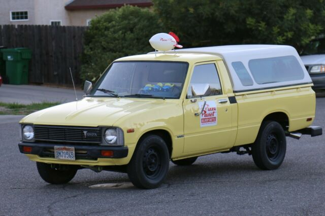 1979 Toyota Hilux pizza planet