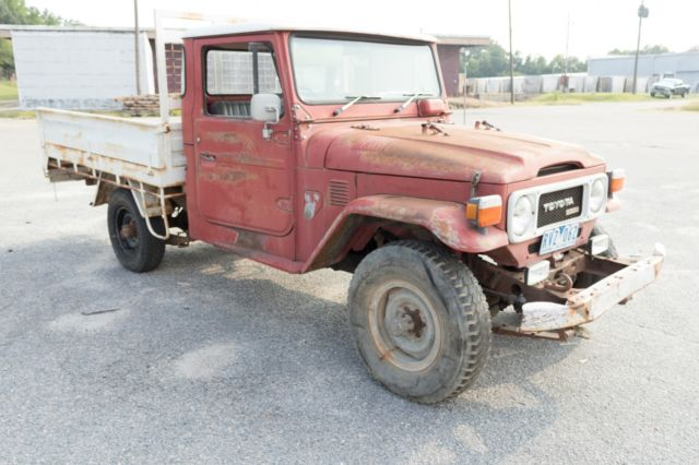 1979 Toyota Land Cruiser Pick Up Ute HJ45 HJ47 FJ40