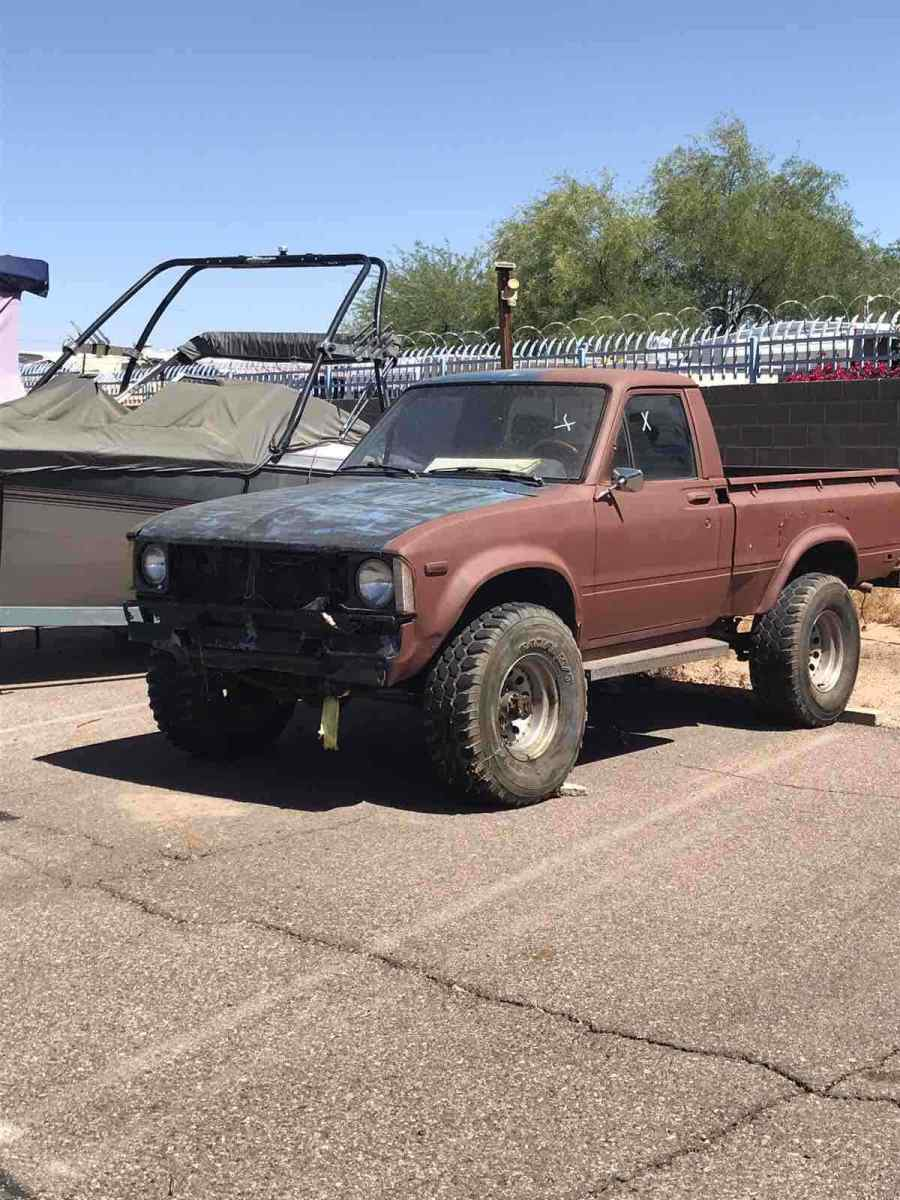 1979 Toyota Pickup 4x4 4x4 ShortBed