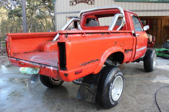 1979 toyota pickup base cab chassis 2 door 2 2l project started never off road for sale. Black Bedroom Furniture Sets. Home Design Ideas