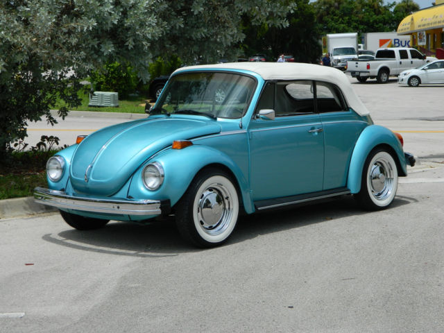 1979 Volkswagen Beetle - Classic Final Year Factory Air Beetle Convertible