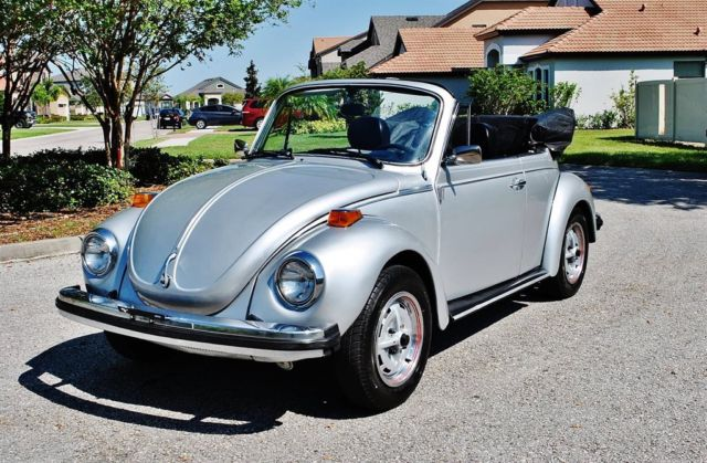 1979 Volkswagen Beetle-New Convertible Super Beetle Fuel Injected