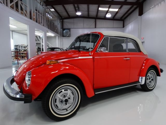 1979 Volkswagen Beetle - Classic ONLY 7,948 ACTUAL MILES!!! LIKE NEW!!