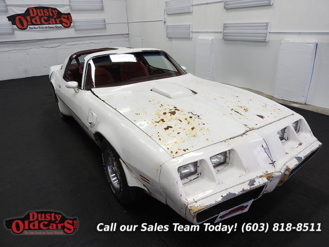 1979 Pontiac Trans Am Project Car Yard Drives 403V8 3 spd auto