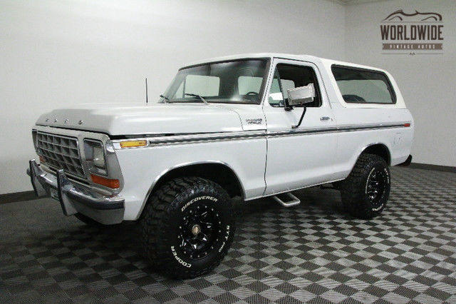 1979 Ford Bronco RESTORED. RARE. CUSTOM WHEELS. COLLECTOR!