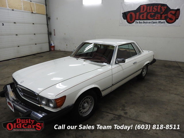 1979 Mercedes-Benz SL-Class Runs Drives Body Int VGood SLC 4.5LV8