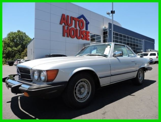 1980 Mercedes-Benz 400-Series 450SL LOW MILES GREAT CONDITION