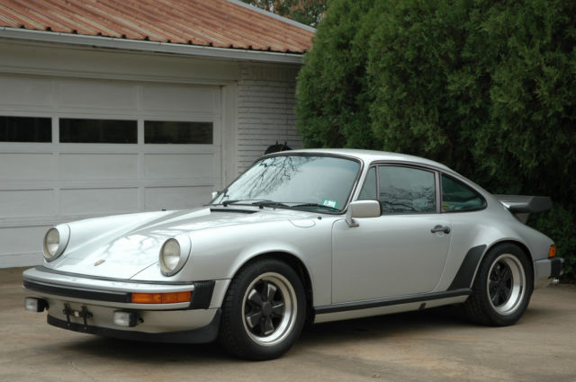 1980 Porsche 911 GARAGE-find, Silver metallic, all original