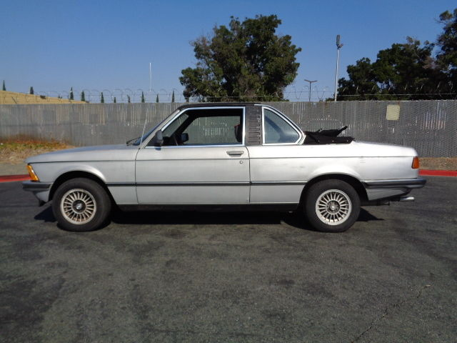1980 Bmw E21 323i Factory 6 Cylinder European Baur Coupe