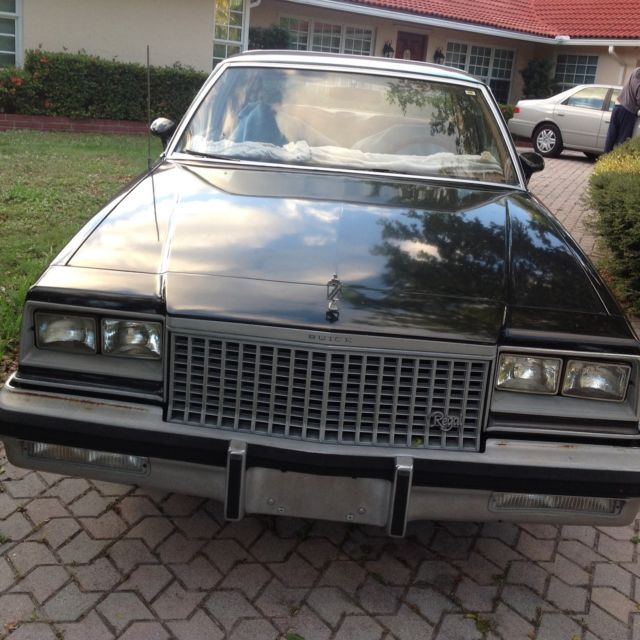 1980 Buick Regal Limited Coupe 2-Door 3.8L For Sale